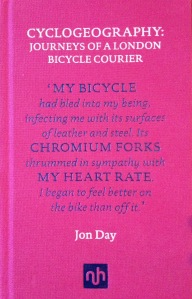 Jon Day's Cyclogeography: beautifully printed and bound